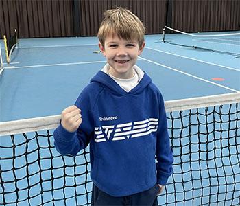 CAS Tennis Academy Mathis Hauquier