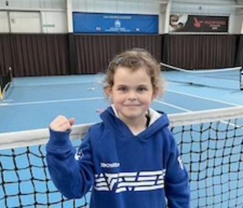 CAS Tennis Academy Amaya Van Hoof